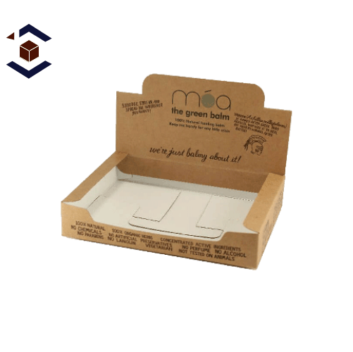 Auto Bottom Counter Display Packaging Boxes