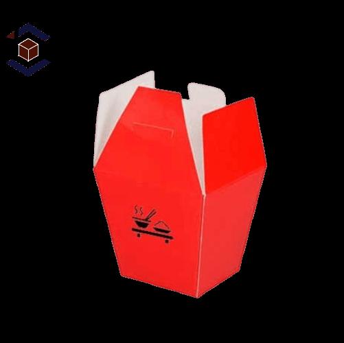 Custom Chinese Food Packaging Box