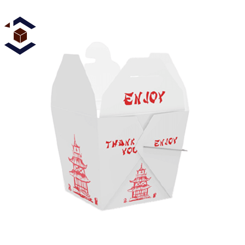 Custom Chinese Takeout Packaging Boxes