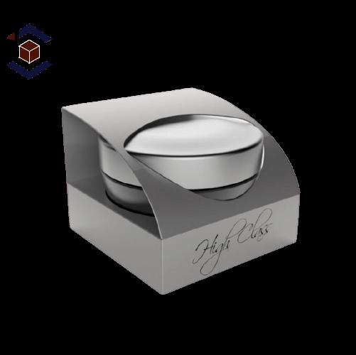Custom Cream Packaging Box