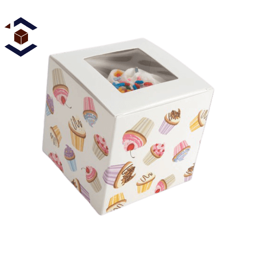 Custom Cupcake Packaging Boxes
