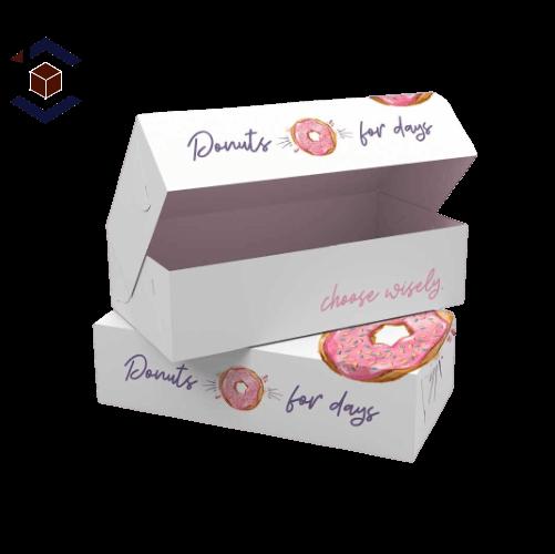 Custom Donut Packaging Box