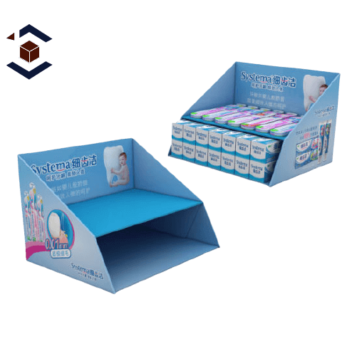 Custom Four Corner Display Lid Packaging Boxes
