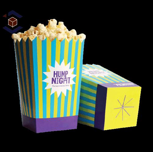 Custom Popcorn Packaging Box