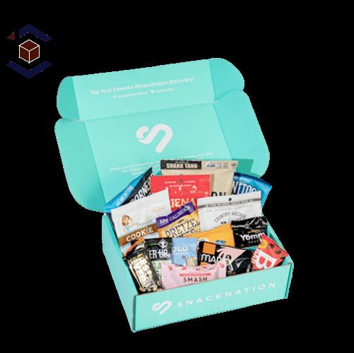 Custom Snack Packaging Box
