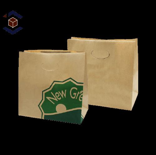 Custom Takeaway Packaging Bag