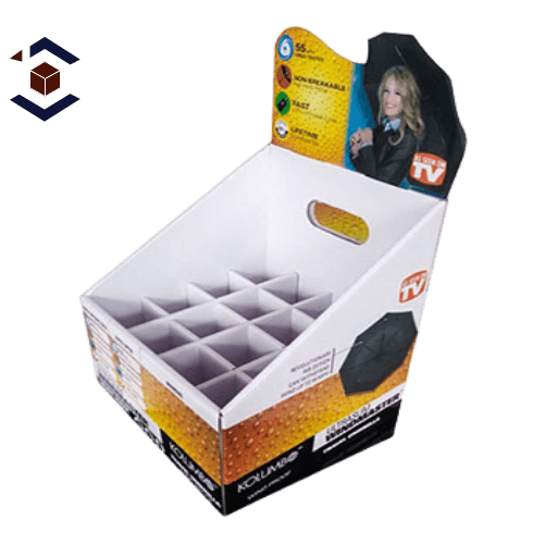 Food Double Wall With Display Lid Packaging Box