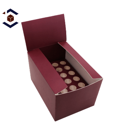 Food Double Wall With Display Lid Packaging