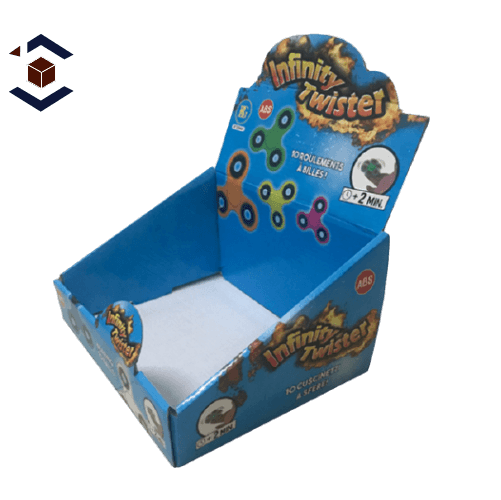 Toy Auto Bottom Counter Display Packaging Boxes