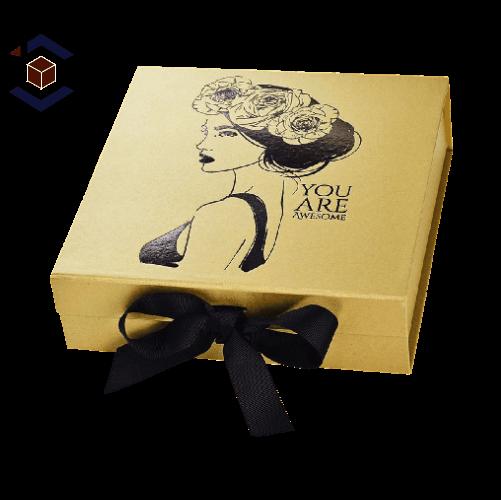 Custom Gold Foil Packaging Boxes