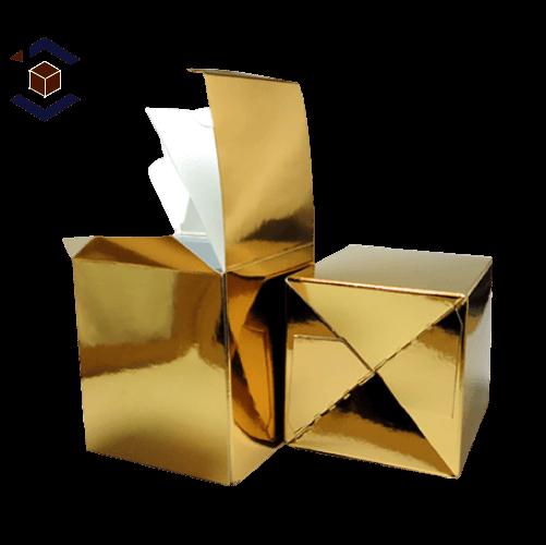 Custom Wholesale Gold Foil Boxes