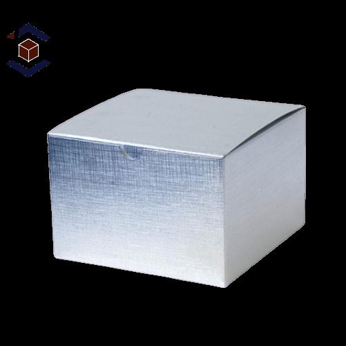 Custom Wholesale Silver Foil Boxes