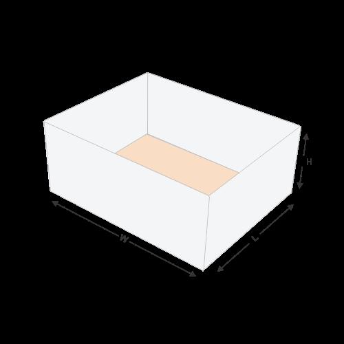 Four Corner Food Tray