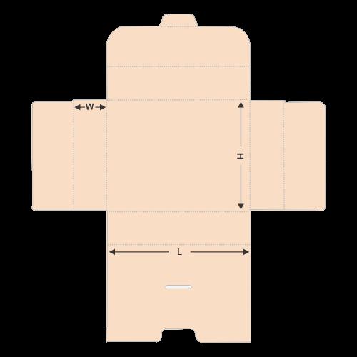 Paper Brief Case template